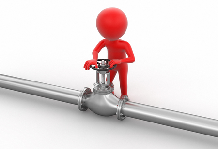 stop gate valve: Pipeline and Man