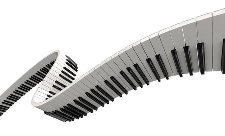 鋼琴鍵(剪切路徑包括)