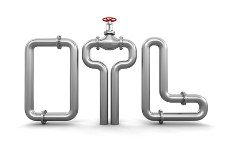 stop gate valve: Pipeline (clipping path included)