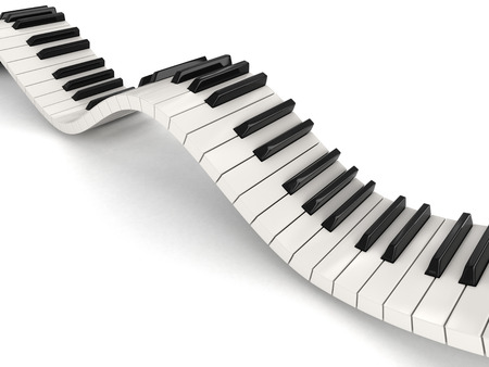 octave: Piano keys (clipping path included)