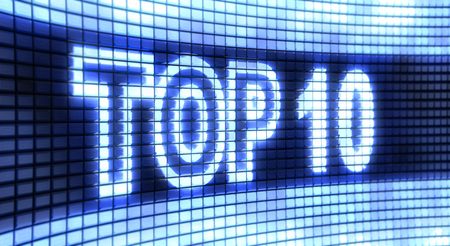 incomparable: Panel Top 10 Stock Photo