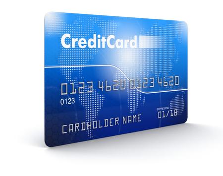 tarjeta de credito: Tarjeta de cr�dito (camino de recortes incluido)