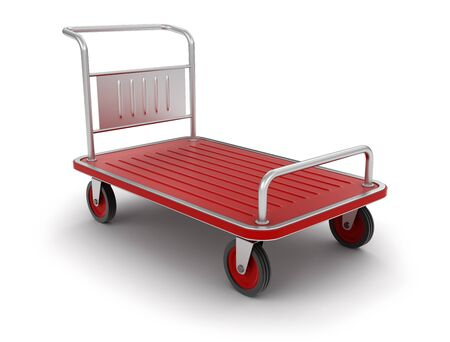 included: Handtruck (clipping path included)