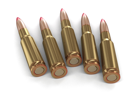 casings: Bullets (clipping path included)