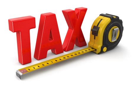 定規と税 (クリッピング パスを含める)