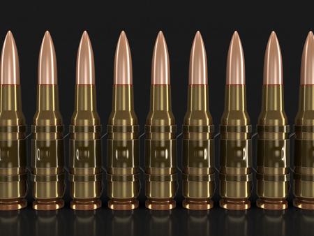 machine-gun: Machine-gun belts .