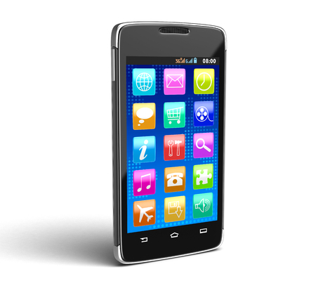 personal digital assistant: Touchscreen smartphone .