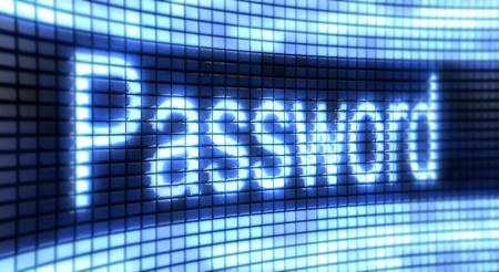 password: Panel contraseña