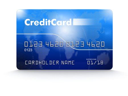 Credit Card Reklamní fotografie - 39428045