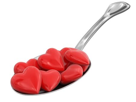 Spoon and Hearts  photo