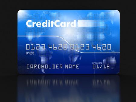 credit card: Tarjeta de Crédito
