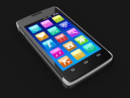 touchscreen: Touchscreen smartphone