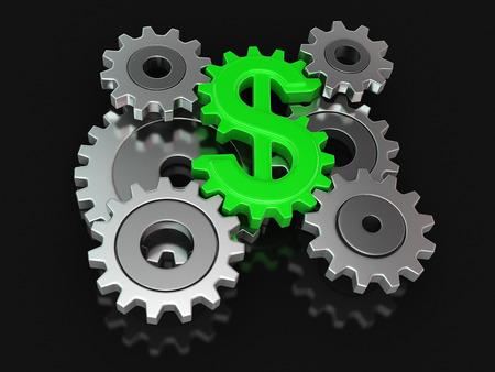 cogwheel: Cogwheel dollar