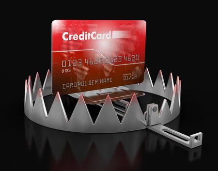 mantrap: Trap and Credit Card