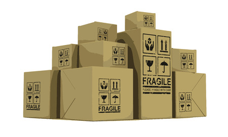package sending: Paper Packages