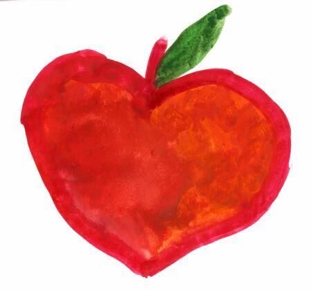 naturopath: Apple heart