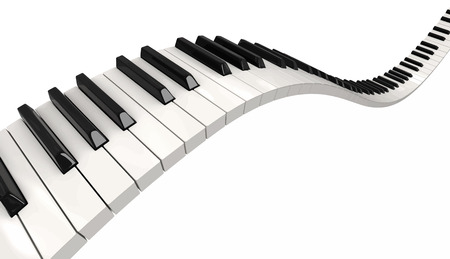 musical instrument parts: Piano keys