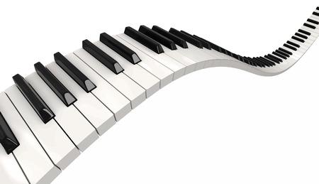 Pianoforte chiavi  Archivio Fotografico - 43471837