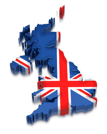 physical geography: Map of United Kingdom