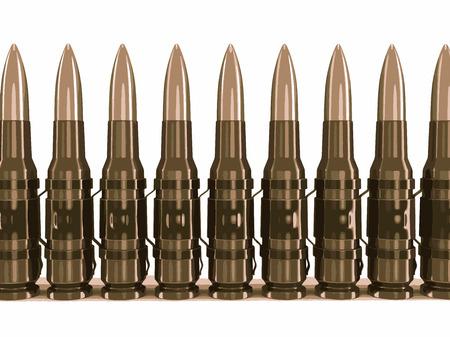 machine-gun: Machine-gun belts
