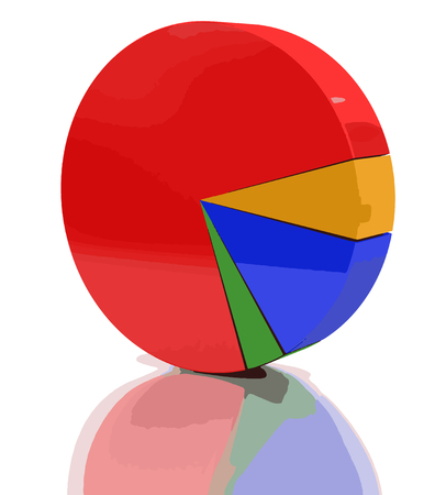 path to wealth: Pie chart