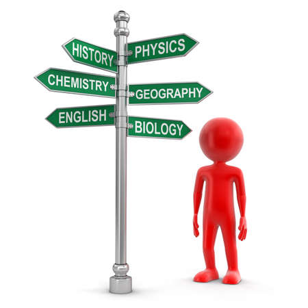 sign road: Sign Directions clipping path included Stock Photo