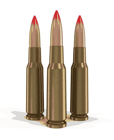 casings: Bullets Illustration