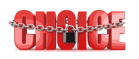 Choice and lock Ilustração