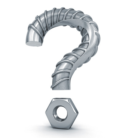 punctuation mark: Question Mark of the Building armature.
