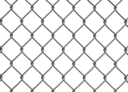 chainlink fence: Chainlink fence.  Stock Photo