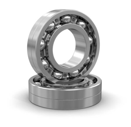 bearing: Bearing clipping path included Stock Photo