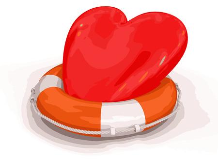 Heart and Lifebuoy