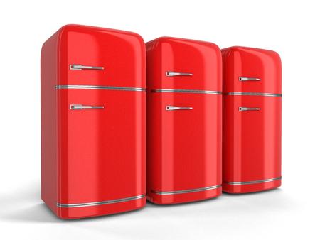 Retro Kühlschrank Klein : Retro kühlschrank. bild mit beschneidungspfad lizenzfreie fotos