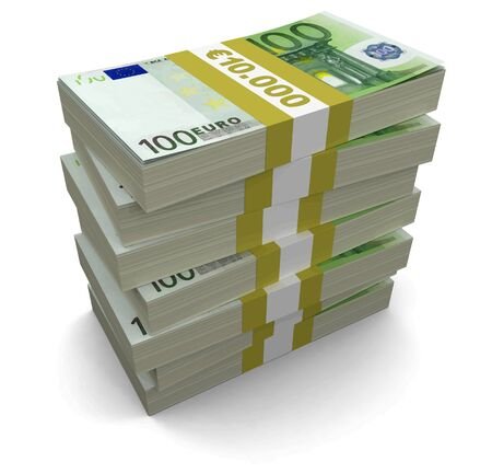 euro: Pile of Euro Illustration