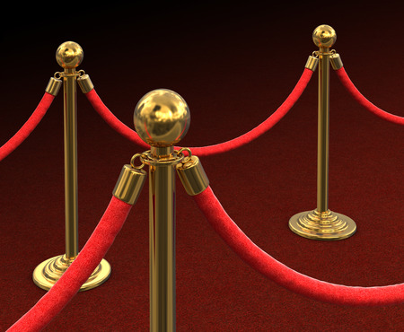 roped: Red Carpet and stanchions