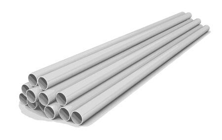 steel: steel pipes Illustration