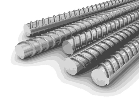 steel industry: Building armature Illustration