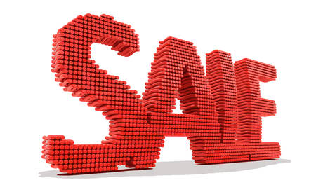 single word: sale Illustration