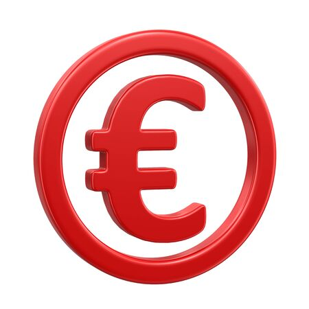 euro sign: Euro Sign clipping path included
