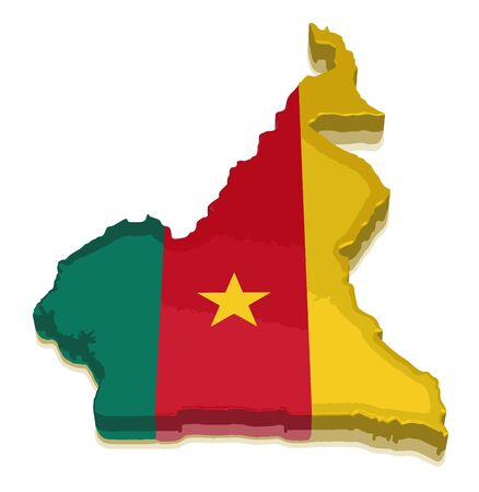 physical geography: Map of Cameroon