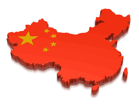 physical geography: map of china