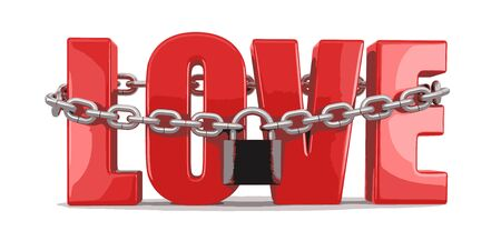 forbidden love: Love and lock