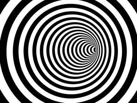 hypnotist: Spiral Tunnel Illustration