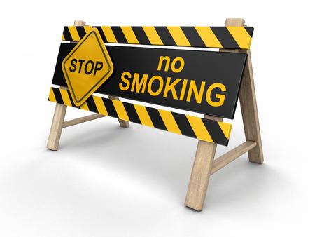 no smoking sign: No smoking Sign. Image with clipping path