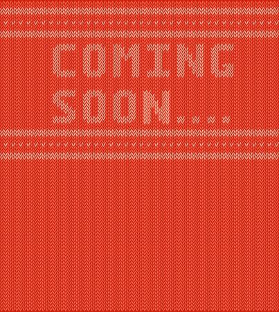 Pad mit Coming soon Standard-Bild - 50845116