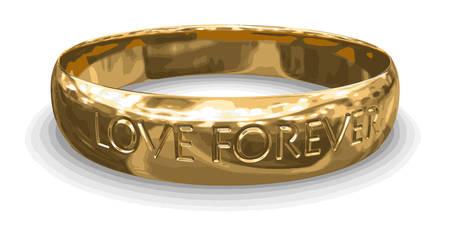 gold ring: gold ring