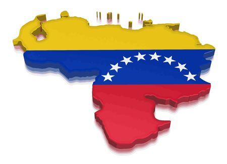 physical geography: Map of Venezuela