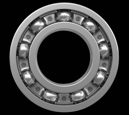 bearing: Bearing. Image with clipping path