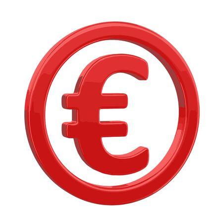 financial figures: euro sign