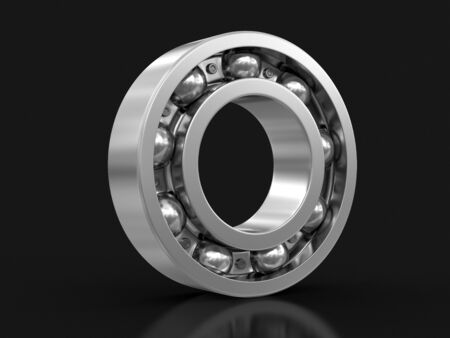 spare part: Bearing. Image with clipping path